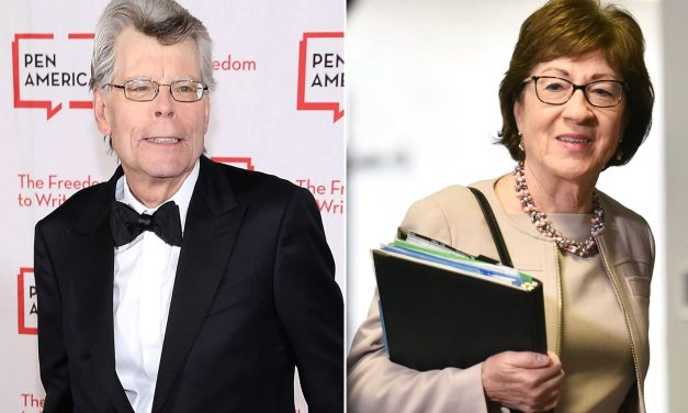 Stephen King slams Susan Collins for her 'gullibility' which led to Texas abortion law