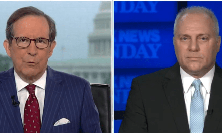 Chris Wallace busts Steve Scalise for parroting Trump's 2020 election 'big lie'