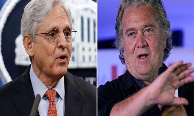 Bannon says Merrick Garland helped plot a 'coup' against Trump after the 2020 election