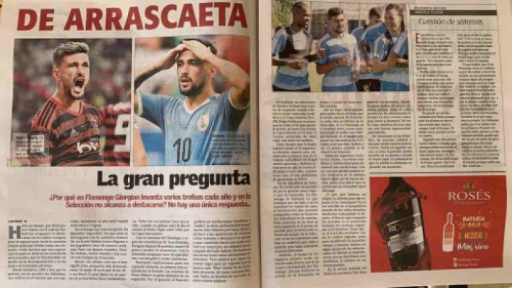 Imprensa Uruguaia - Arrascaeta