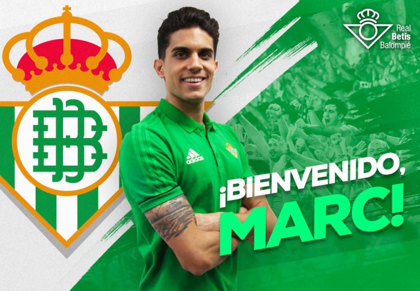Marc Bartra anunciado no Real Betis