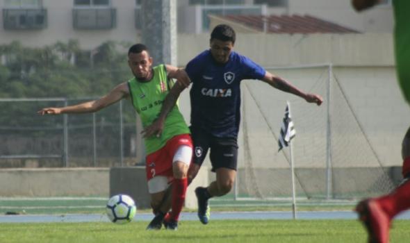 Botafogo x Bangu - jogo-treino