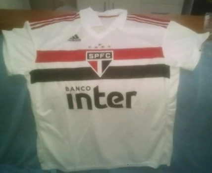 Vazou  Supostas camisas do São Paulo – Adidas vazam na internet ... 882aa50f7408b