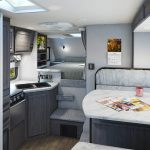 Gallery Lance 855s Truck Camper Amazing Functionality Provided By The Dinette Slide In This Short Bed Model
