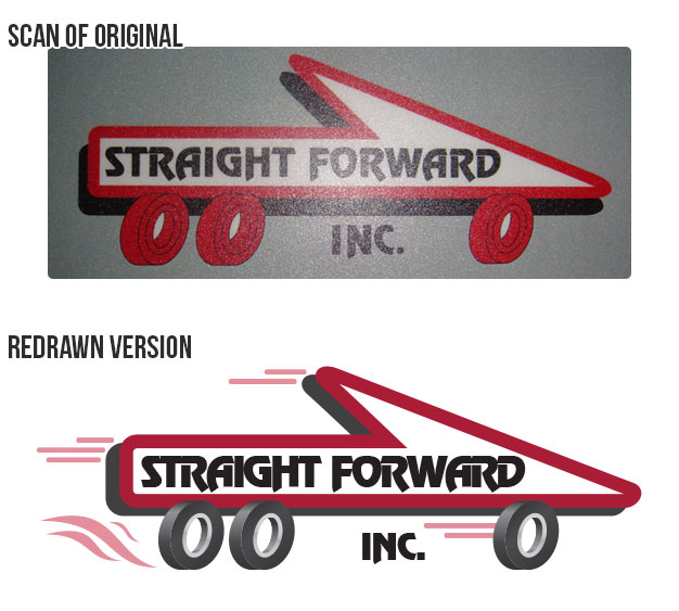 Straight Forward Logos -Compared