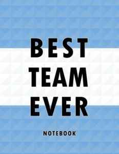 Best Team Ever Notebook: Argentina Football / Soccer Team 100 Pages Journal Paper