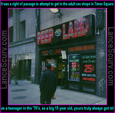Peepland In Times Square New York City
