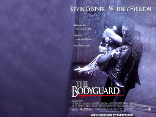 The Bodyguard Kevin Costner Whitney Houston 1992