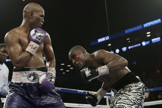 Bernard Hopkins defeats Cloud