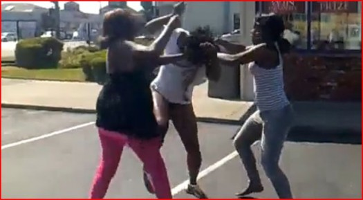 Black-Women-Fighting