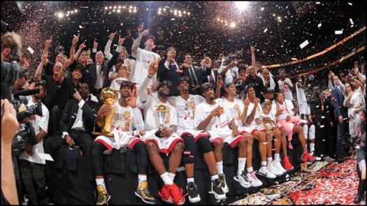 Miami Heat Voctory 2013