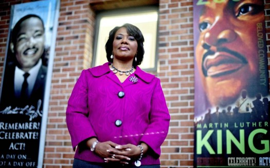 is bernice king gay