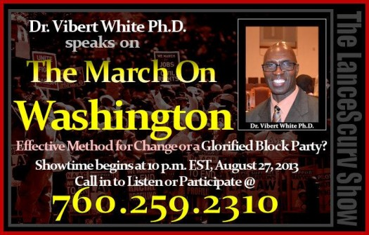 Dr. Vibert White Advertisement