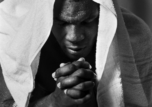 Mike Tyson Praying