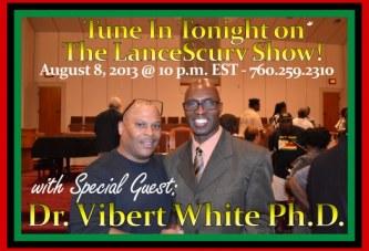 Dr. Vibert White Ph.D. Speaks On The National Leadership Coalition's Open Letter To The Black Community!