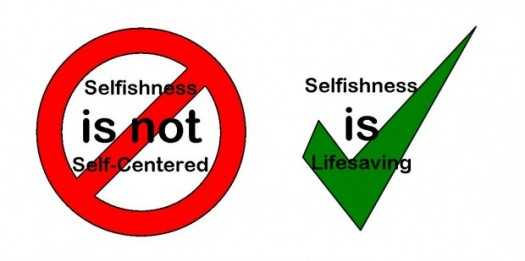 Selfishness Is Life Saving