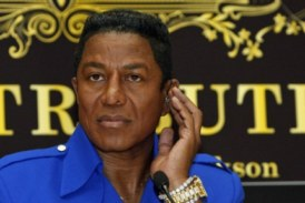 Jermaine Jackson – The Cold Hearted Madame Tussauds Wax Figure Of A Man Who Refuses To Pay Up His Child Support!