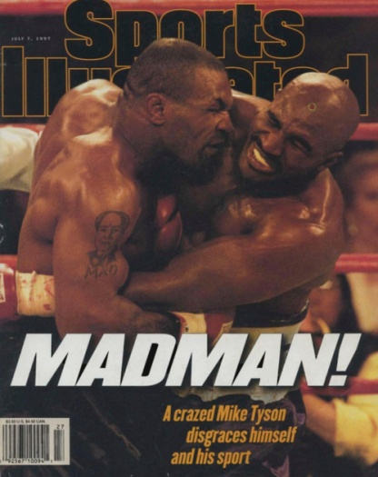 Mike Tyson Sports Illustrated Cover MADMAN