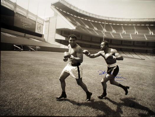 Ken Norton Chasing Muhammad Ali At Yankee Stadium