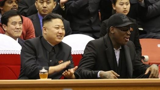 Dennis Rodman & Kim Jong un