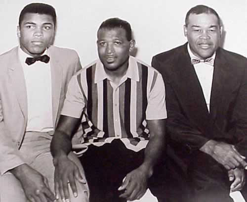 Muhammad Ali, Sugar Ray Robinson, Joe Louis, Fighter