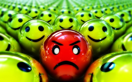 Angry Smiley - In Need Of True Spiritual Wisdom