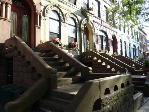 Brownstones in Bedford-Stuyvescent a Gentrification Target