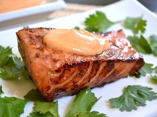 Salmon Dish- Spiritual Meal