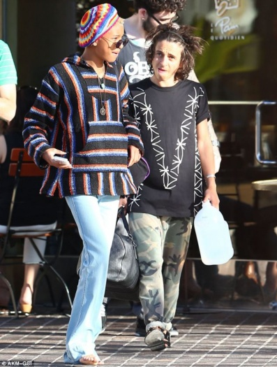 Willow Smith Moises Arias