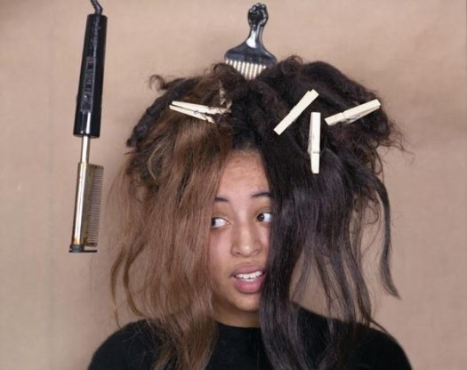 Confused Black Hair- Crisis