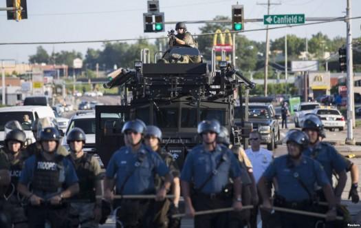 Ferguson Riots Military Police
