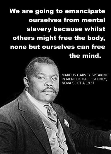 Marcus Garvey - Power