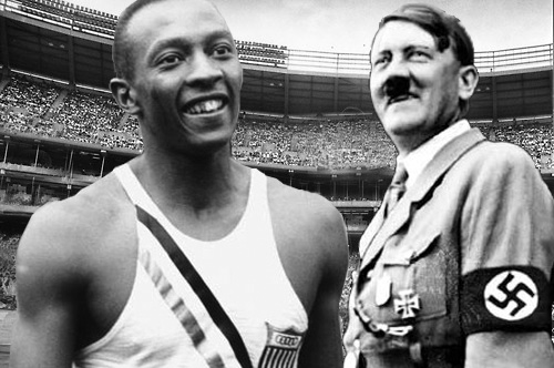 Jesse Owens - Adolf Hitler
