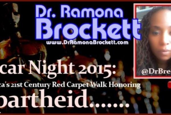 Oscar Night 2015: America's 21st Century Red Carpet Walk Honoring Apartheid!