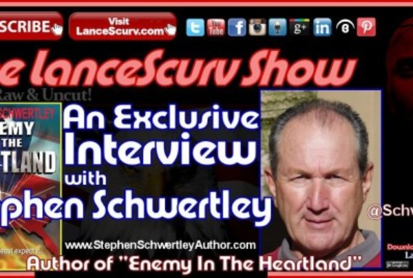 """An Interview with Stephen Schwertley: Author of """"Enemy In The Heartland"""""""