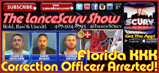 KKK Florida Corrections Department Graphic