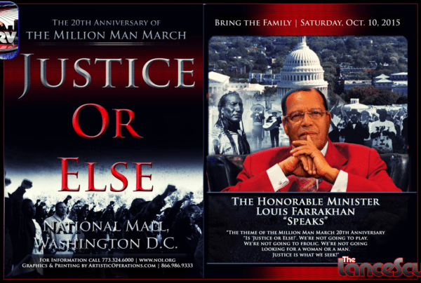 Now That The Million Man March Is Over, Where Do We Go From Here? – The LanceScurv Show