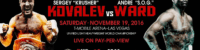 Sergey Kovalev vs. Andre Ward BLOW BY BLOW LIVE! – The LanceScurv Show