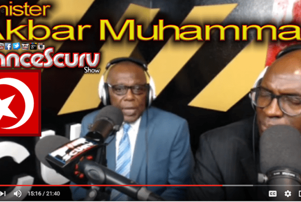 N.O.I.'s Minister Akbar Muhammad on Alternative Black News with Dr. Vibert Muhammad