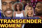 TRANSGENDER WOMEN: Lil Duval Jokes About Killing Them! – The LanceScurv Show