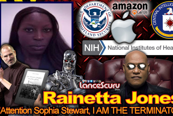 "Rainetta Jones: Attention Sophia Stewart, I AM THE TERMINATOR!"" – The LanceScurv Show"