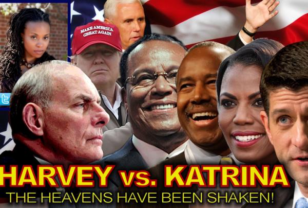 HARVEY vs. KATRINA: The Heavens Have Been Shaken! – The Dr. Ramona Brockett Show