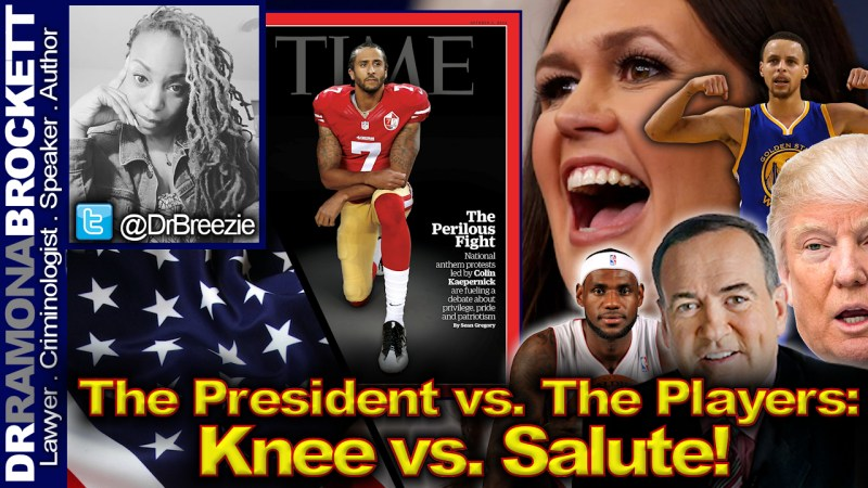 The President vs. The Players: Knee vs. Salute! - The Dr. Ramona Brockett Show