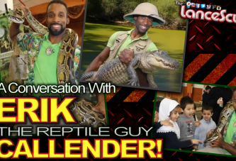 "A Conversation With ""THE REPTILE GUY"" Erik Callender! – The LanceScurv Show"