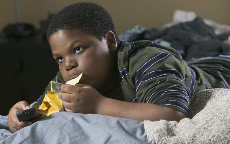 Fat Kid Eating