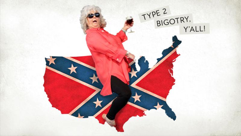 Paula Deen Confederate Flag