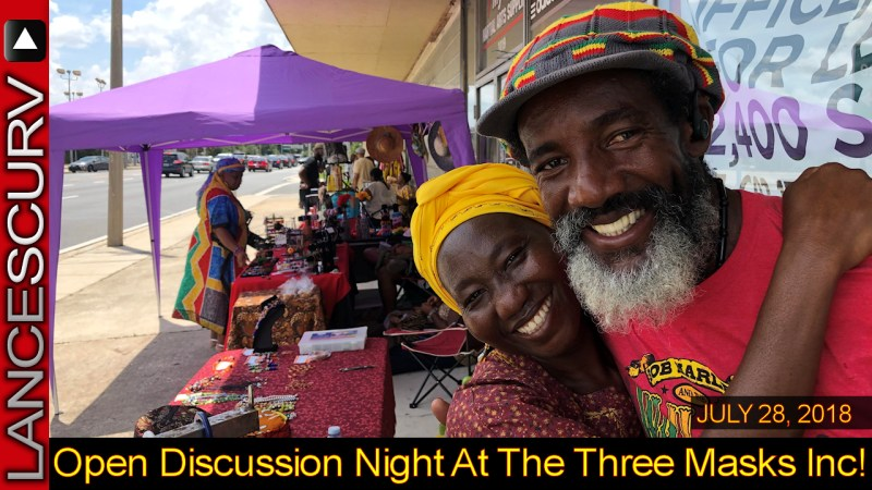 Open Discussion Night At The Three Masks Inc.! - The LanceScurv Show