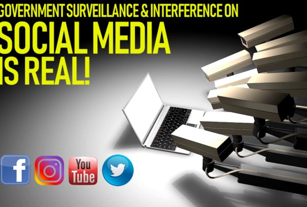 GOVERNMENT SURVEILLANCE ON SOCIAL MEDIA IS REAL! – The LanceScurv Show