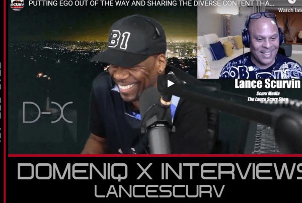 DOMENIQ X INTERVIEWS LANCESCURV