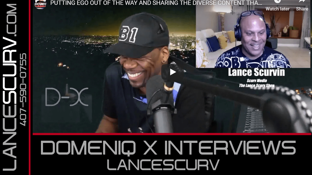 DOMENIQ X INTERVIEWS LANCESCURV